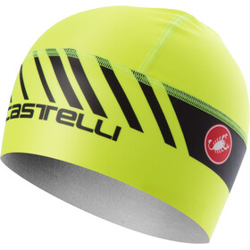 Castelli Arrivo 3 Thermo Skully Mütze yellow fluo/black
